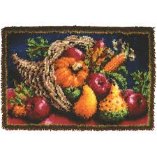 classics latch hook kit 20 x30 country harvest joann