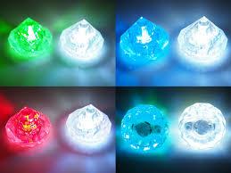 glow lights diamond diamante gemstone led glow fairy lights white multicolor