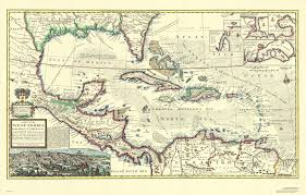 carribbean map 1715 caribbean indies antique map reproduction swiftmaps com