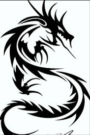 free black white dragon drawing iphone wallpaper