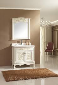 Oak Bathroom Cabinets Online Get Cheap Oak Bathroom Furniture Cabinets Aliexpress Com
