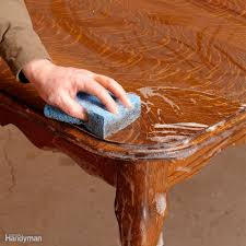 how to refinish furniture family handyman