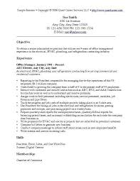 functional resume objective resume career objectives examples