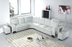 canape angle relax cuir canape canape angle relaxation d 0 deco in en cuir blanc