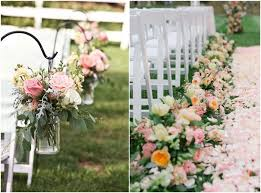 wedding ceremony decoration ideas outdoor wedding aisle decoration ideas to