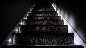 solar stair lights indoor home lighting stair lights led changing colors menards indoor