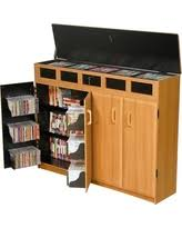 Cd And Dvd Storage Cabinet With Doors Oak Finish Boom Sales U0026 Deals On Oak Storage Cabinets