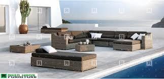 home furnitures outdoor living dining sunbed sets