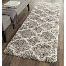 Shaggy Runner Rug Grey Shag Runner Rugs For Less Overstock