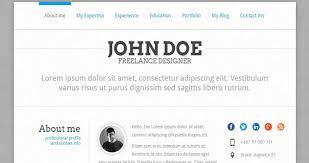 22 best wordpress resume themes 2016 wpdean