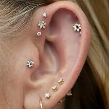 cartilage earrings tragus jewelry and piercings cartilage earrings