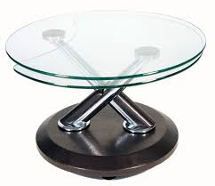 Expandable Wooden Table Furniture Fancy Round Shape Expandable Wooden Table With Round