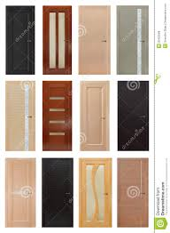 interior wood doors with glass set of 12 interior wooden doors royalty free stock photos image