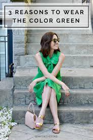 3 reasons to try wearing green this season art in the find