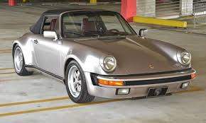 porsche 911 wide 1985 porsche 911 wide turbo look m491 50k