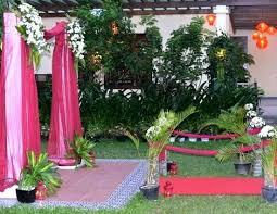 Garden Setup Ideas Garden Set Up End Of Summer Garden Colour Garden Wedding Setup