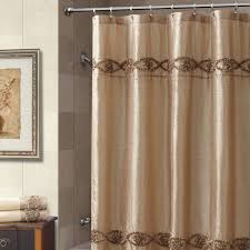 Gray Paisley Shower Curtain by Bathroom Design Awesome Hookless Gray Floral Pattern Extra Long