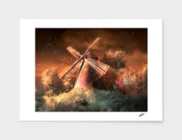 Color Of The Wind Numbered Edition Art Print By Rolando Cyril