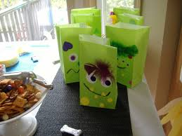monster mania halloween party crafts and decor hungry happenings halloween party bags with
