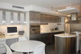 Aluminum Kitchen Cabinets by Furniture Super Modern Kitchen With Stainless Steel Cabinets