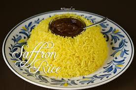 cuisine au safran saffron rice bariis sacfaraan leh riz au safran أرز بالزعفران