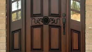 Exterior Doors Wooden How To Clean The Wood Front Doors All Design Doors Ideas