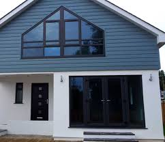 Green Upvc Front Doors by Grey Upvc Windows Anthracite Grey Woodgrain Foiled Windows And Doors