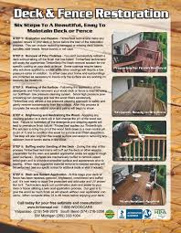 indiana deck cleaning and sealing and staining restoration deck