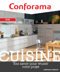 cuisine conforama catalogue guide 2017