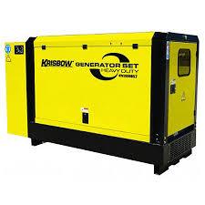 jual jual krisbow hd20kva generator diesel silent perkins