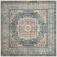 Area Rug Square Square Distressed Square 1 6 Area Rugs Rugs The Home Depot