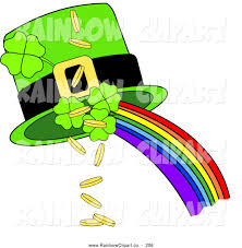 royalty free irish stock rainbow designs
