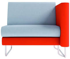 one and a half seater sofa one and half seater sofa refuge left arm office reality