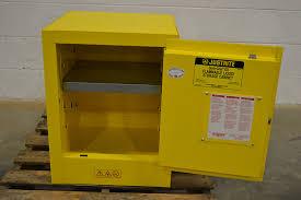 Justrite Flammable Liquid Storage Cabinet Justrite 890400 Bench Top Sure Grip Ex Flammable Liquid Storage