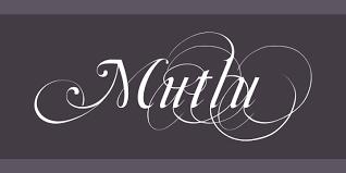 mutlu font free by gazoz font squirrel