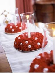 Cake Decorations At Home 40 Christmas Decoration Ideas In All Shades Of Red Digsdigs