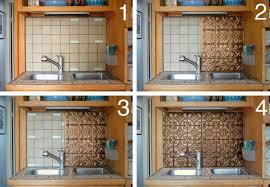 diy kitchen backsplash voila image of d i y kitchen backsplash