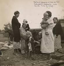 long lost depression era photos capture everyday life of destitute