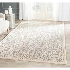 ivory rugs safavieh handmade cambridge moroccan silver ivory rug 5 x 8