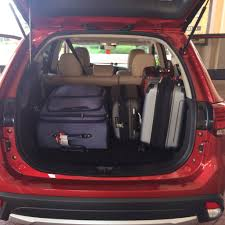 mitsubishi suv 2016 interior 2016 mitsubishi outlander sel review grumpy u0027s honey bunch
