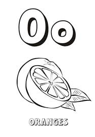 fruit orange coloring pages fruits coloring pages of