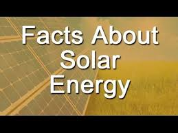Light Energy Facts Facts About Solar Energy Youtube