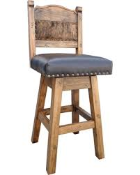 Counter Height Swivel Bar Stool Christmas Savings On Hacienda Swivel Bar Stool With Cowhide
