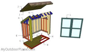 How To Build A Lean To Shed Plans by Lean To Garden Shed Plans