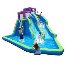amazon com lawn water slides toys u0026 games