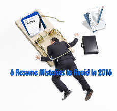 Resume Mistakes Best Resume Jobs O Resume