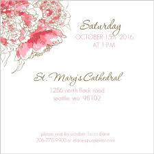 funeral service invitation pink peony funeral service invitation memorial
