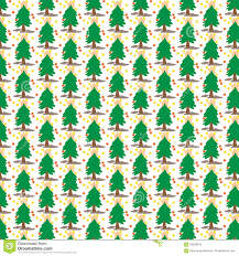 christmas tree cover tile fabric pattern background vector
