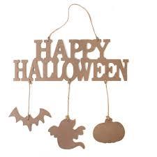 wooden happy halloween sign hobbycraft