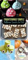 Kid Halloween Snacks Frighteningly Simple Halloween Snacks For Kids A Few Shortcuts